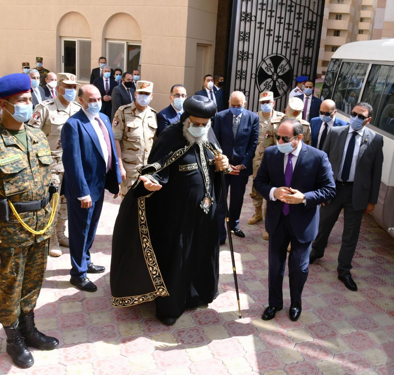 افتتاح الرئيس السيسي لمشروع «بشاير الخير 3»