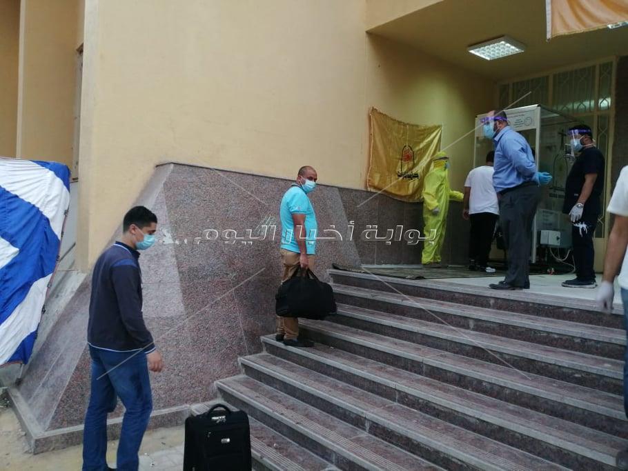 قضاء الحجر الصحي بالمدينة الجامعية بالمطرية