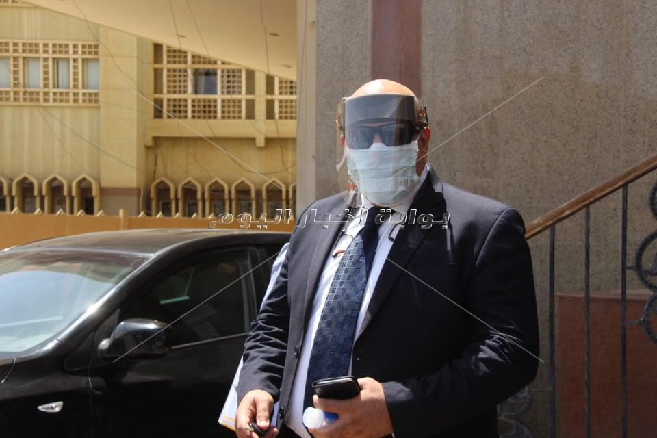 فيديو وصور  محكمة القاهرة الجديدة