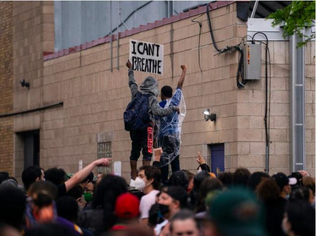 احتجاجات السود من آجل الحياة