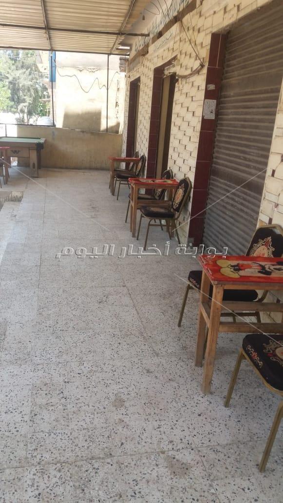 أقبال ضعيف من أهالى البحيرة على المطاعم والمقاهى أول أيام رفع الحظر