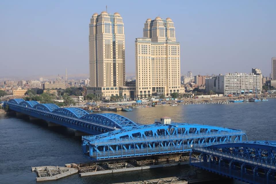 الانتهاء من رفع كفاءة وتجديد كوبري إمبابة الأثري على النيل