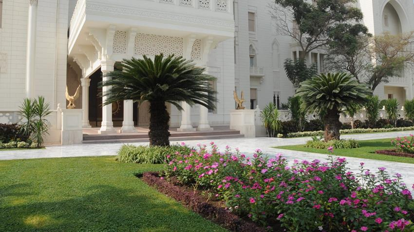 قصر الاتحادية| استغرق بناءه عامين وصمم على الطراز الإسلامي