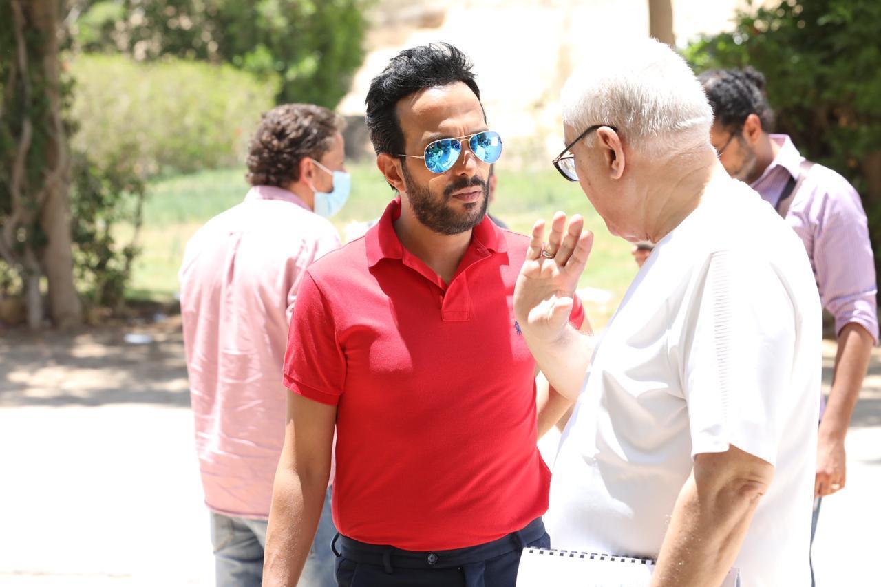 أحمد عصام يبدأ تصوير مسلسل «طلقتك نفسي»