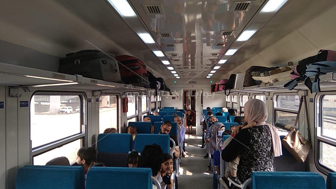 تفاصيل رحلات القطارات الجديدة على خطوط السكك الحديدية خلال العيد