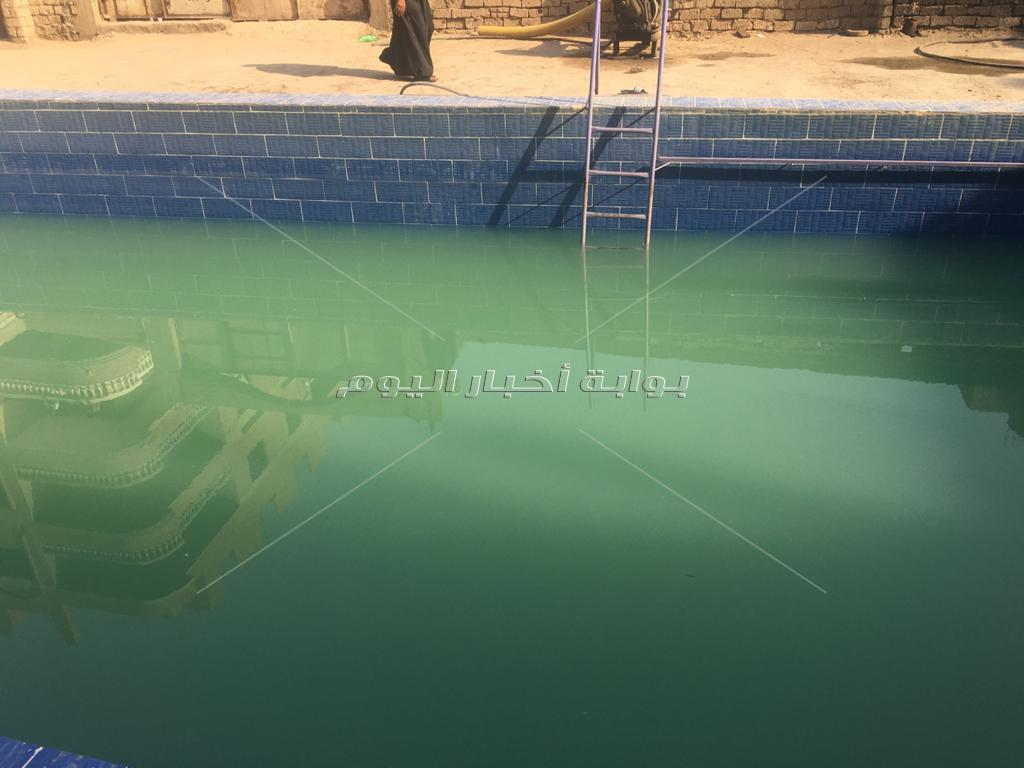 صديق الشهامة يلقى مصرعه غرقا فى حمام سباحة مارينا بشتيل
