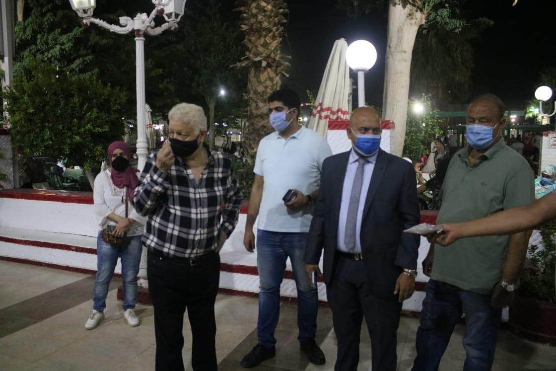 مرتضى منصور يتفقد نادي الزمالك ويحدد موعد افتتاح مسجد طبيب الغلابة
