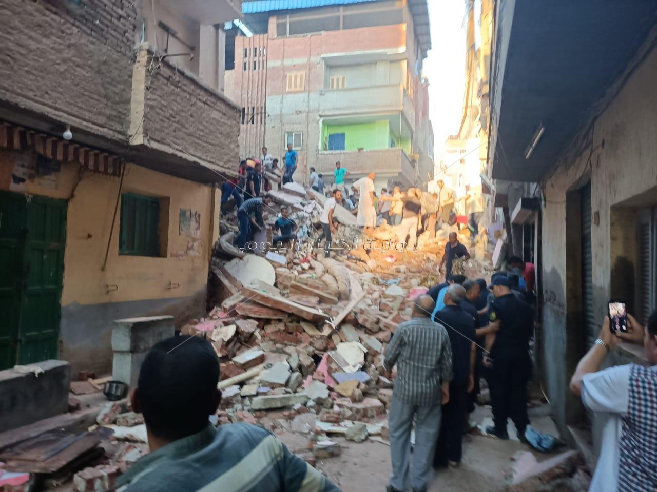 انهيار منزل بشكل مفاجيء في المحلة وانباء عن وفيات ومابين