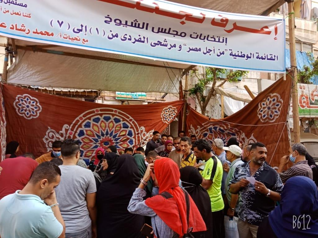 المرأة المصرية تشارك في اليوم الثاني لانتخابات مجلس الشيوخ 2020 بالمحافظات