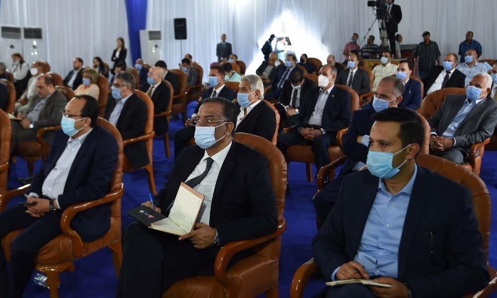 زيارة رئيس الوزراء الى مافظة القليوبية