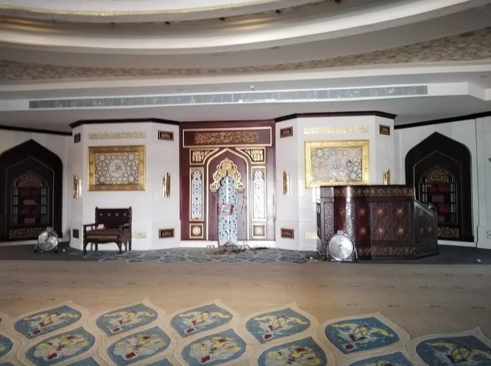 صور  قبل افتتاح مصلى السيدات للصلاة.. 5 معلومات عن جامع حسن الشربتلي بالتجمع الخامس