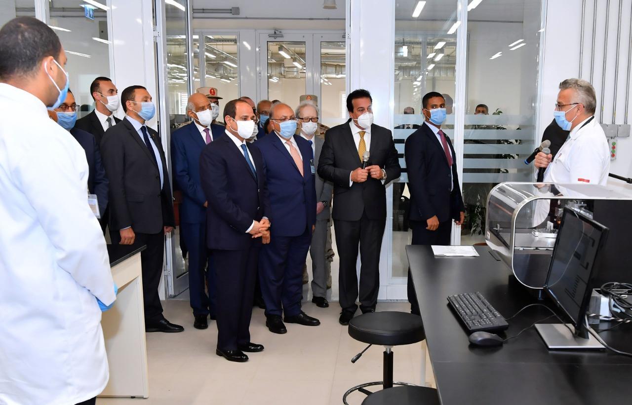 افتتاح الرئيس السيسي الجامعة المصرية اليابانية وعدداً من الجامعات الأهلية