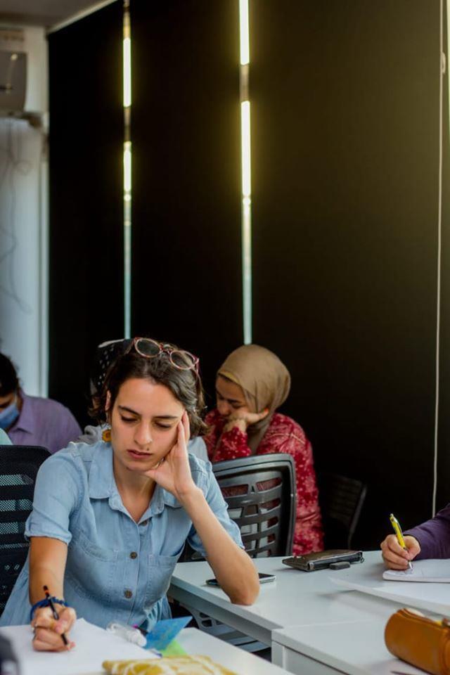 أنتي الاهم تنظم ورشة فنية لدعم قضايا المرأة المصرية