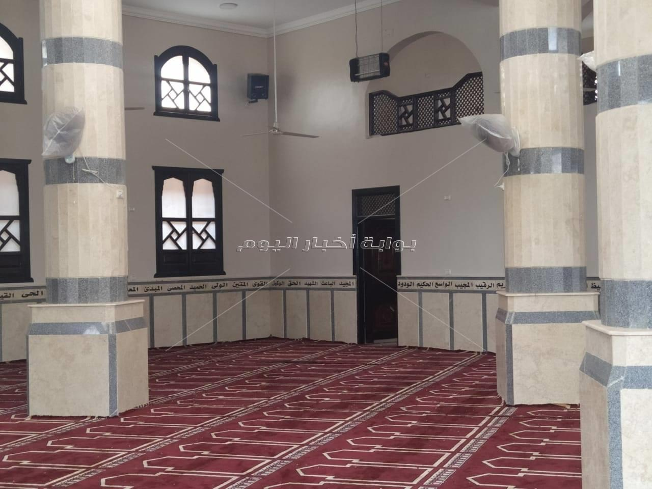 افتتاح 3 مساجد بمحافظة القليوبية بتكلفة 8 مليون جنيه.. بعد قليل