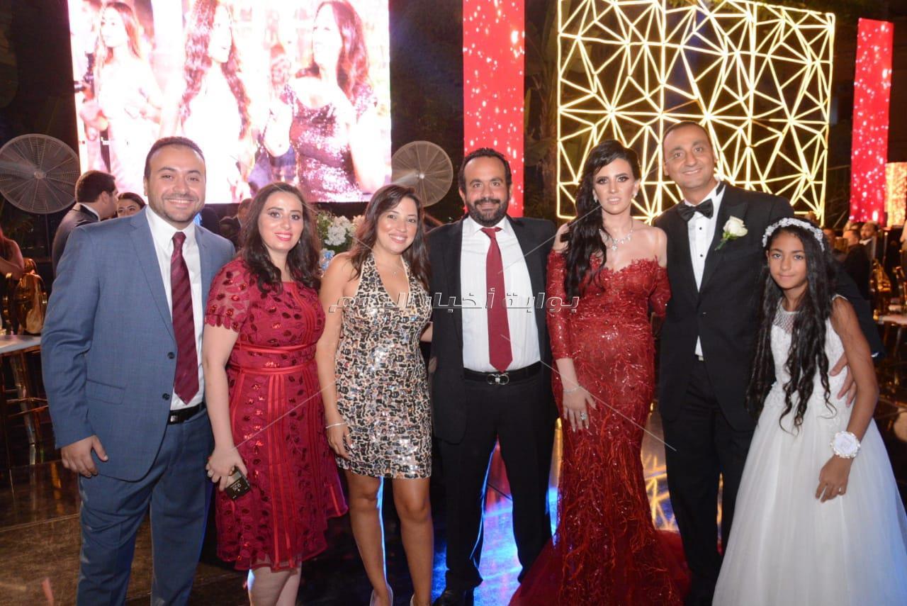 العسيلي يتألق في زفاف «بيشوى وميرنا»