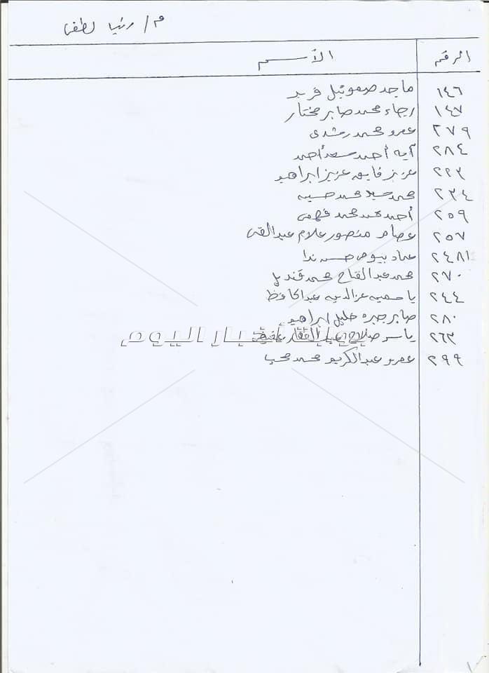 بشرة سارة للمتصالحين في مخالفات البناء بعين شمس