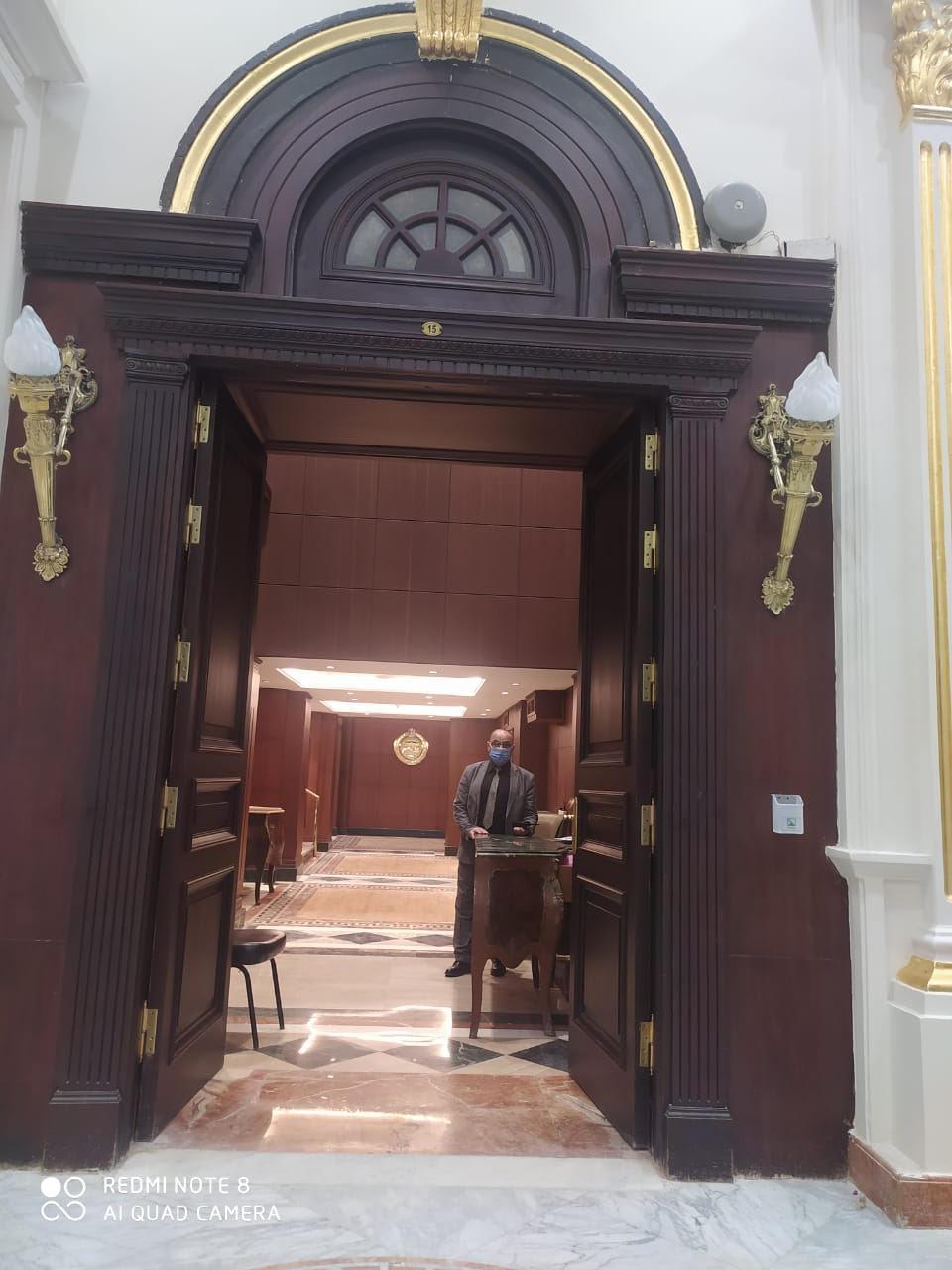 اللمسات الاخيره« للشيوخ »بعد تجديده لعقد جلساته غدا واستقبال اعضائه الجدد