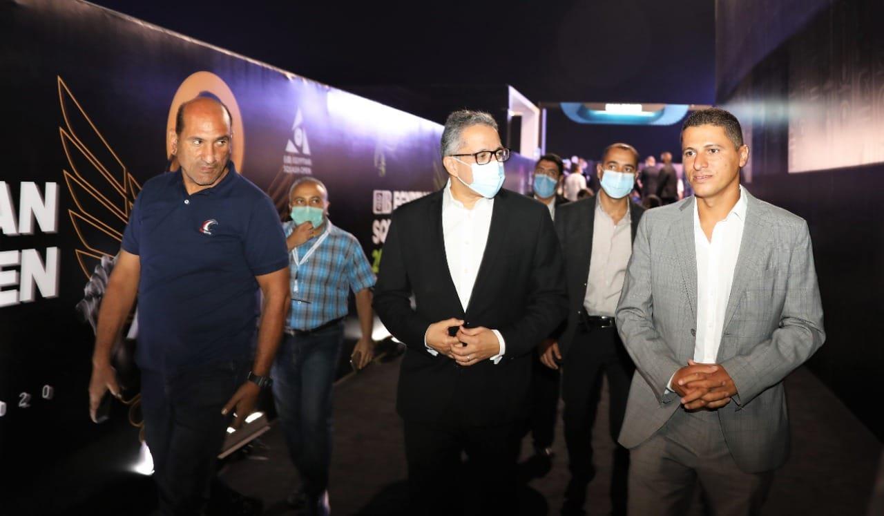 الأهرامات تحتضن نهائي بطولة مصر الدولية للاسكواش بحضور السياحة