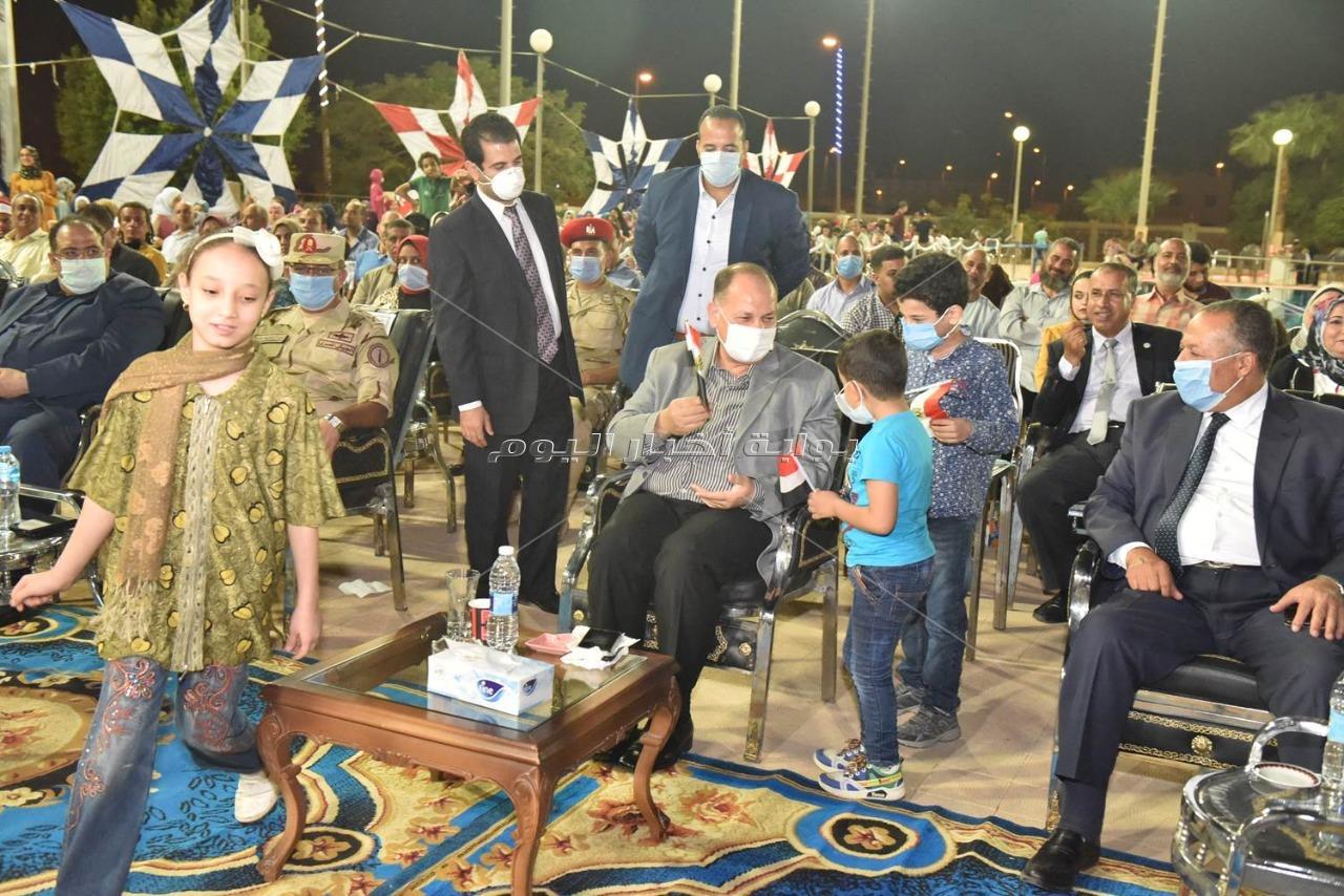 محافظ أسيوط يشهد احتفالية مدينة أسيوط الجديدة بالذكرى الـ 47 لانتصارات أكتوبر المجيدة