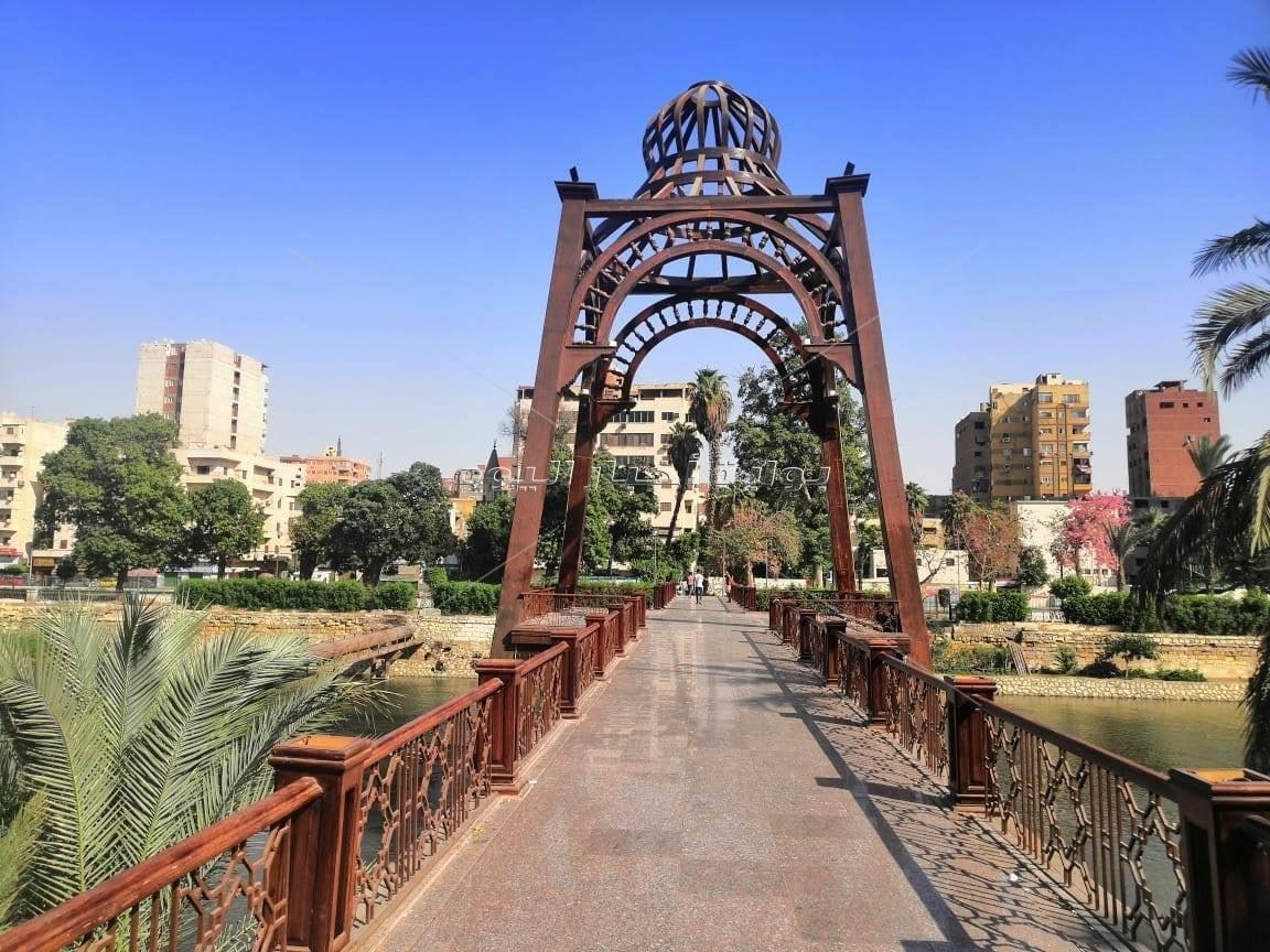 قبل افتتاحها.. ننشر صور تطوير كوبري المانسترلي بمصر القديمة