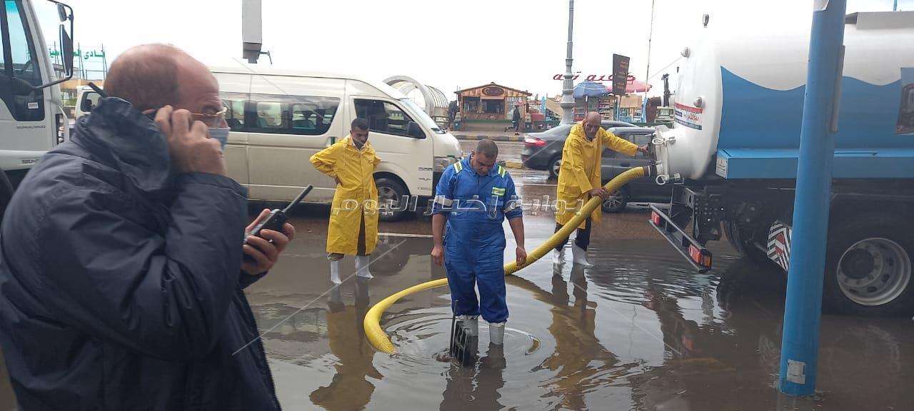 سوء الأحوال الجوية بالاسكندرية