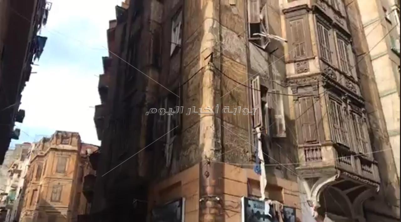 إصابة شخص وفقدان 4 في انهيار سقف عقار بالإسكندرية بسبب الأمطار