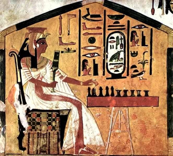 أول شطرنج فرعوني عمره 5200 عام
