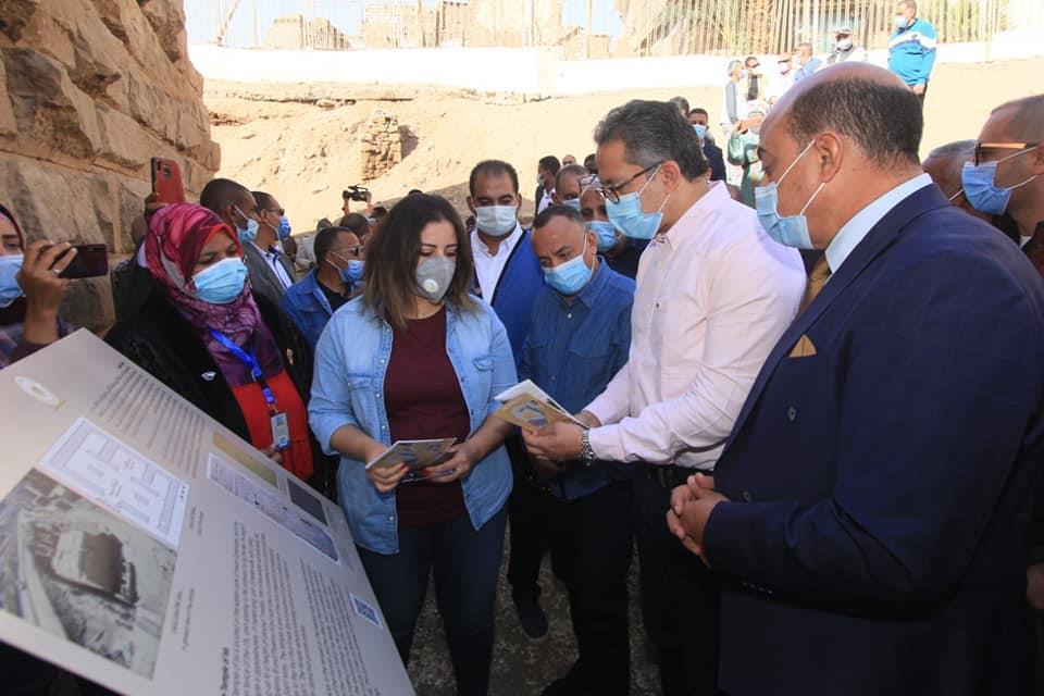- افتتاح معبد إيزيس بعد الإنتهاء من مشروع ترميمه وتطوير الخدمات السياحية به