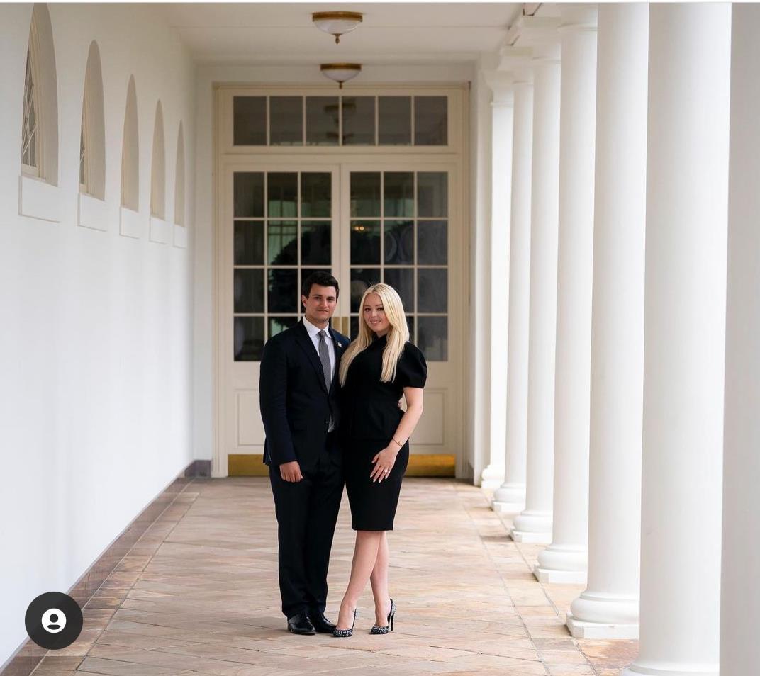 """ابنة ترامب تودع البيت الأبيض ب""""عريس"""""""