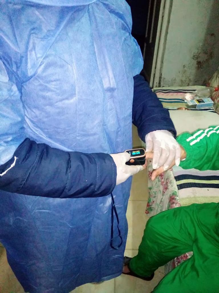 تقديم الخدمة الطبية لـ 500 حالة من المبادرة الرئاسية لمتابعة العزل المنزلى بالغربيه