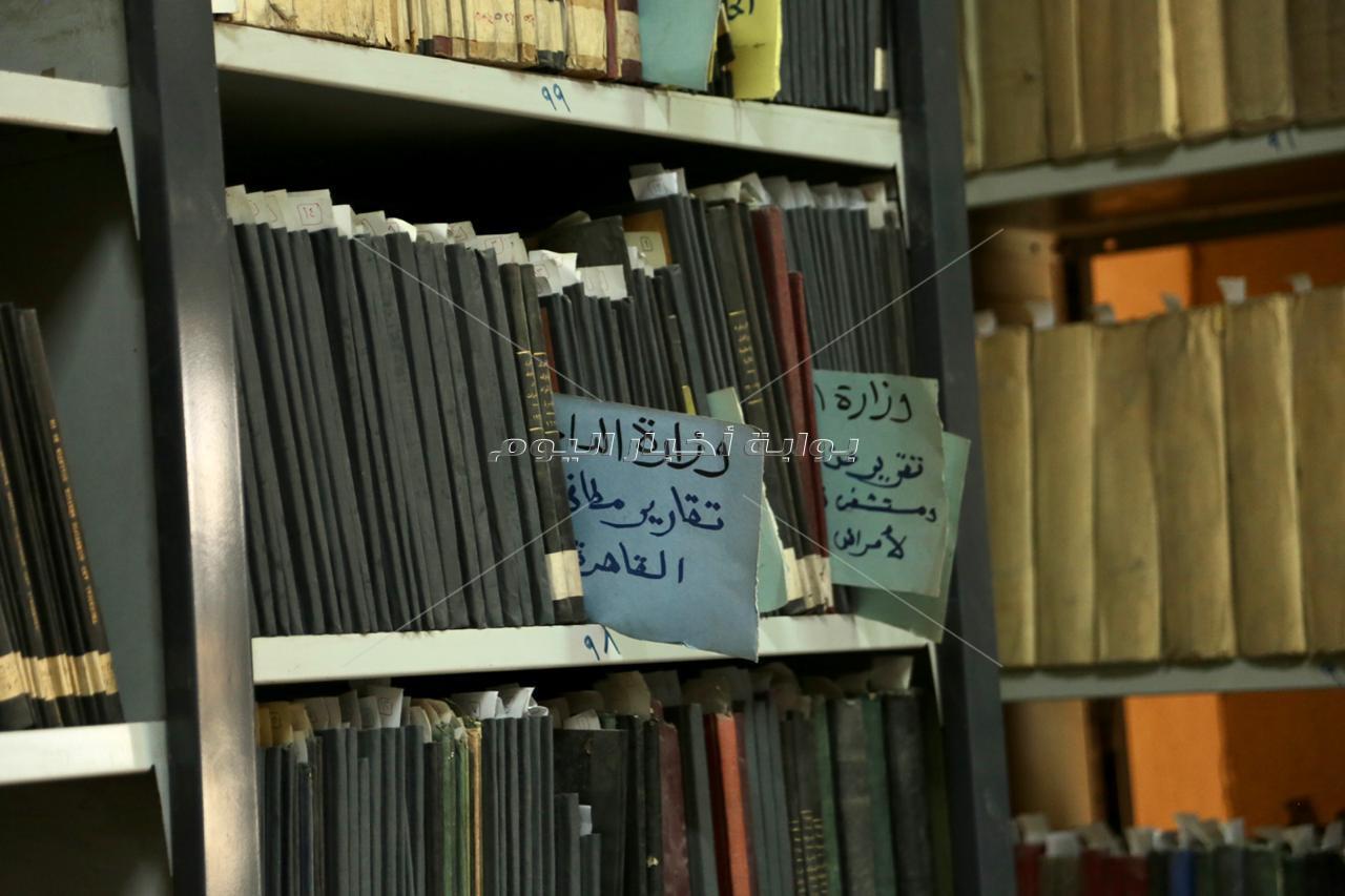 ثاني أقدم أرشيف بالعالم.. توثيق ذاكرة مصر منذ حكم محمد علي