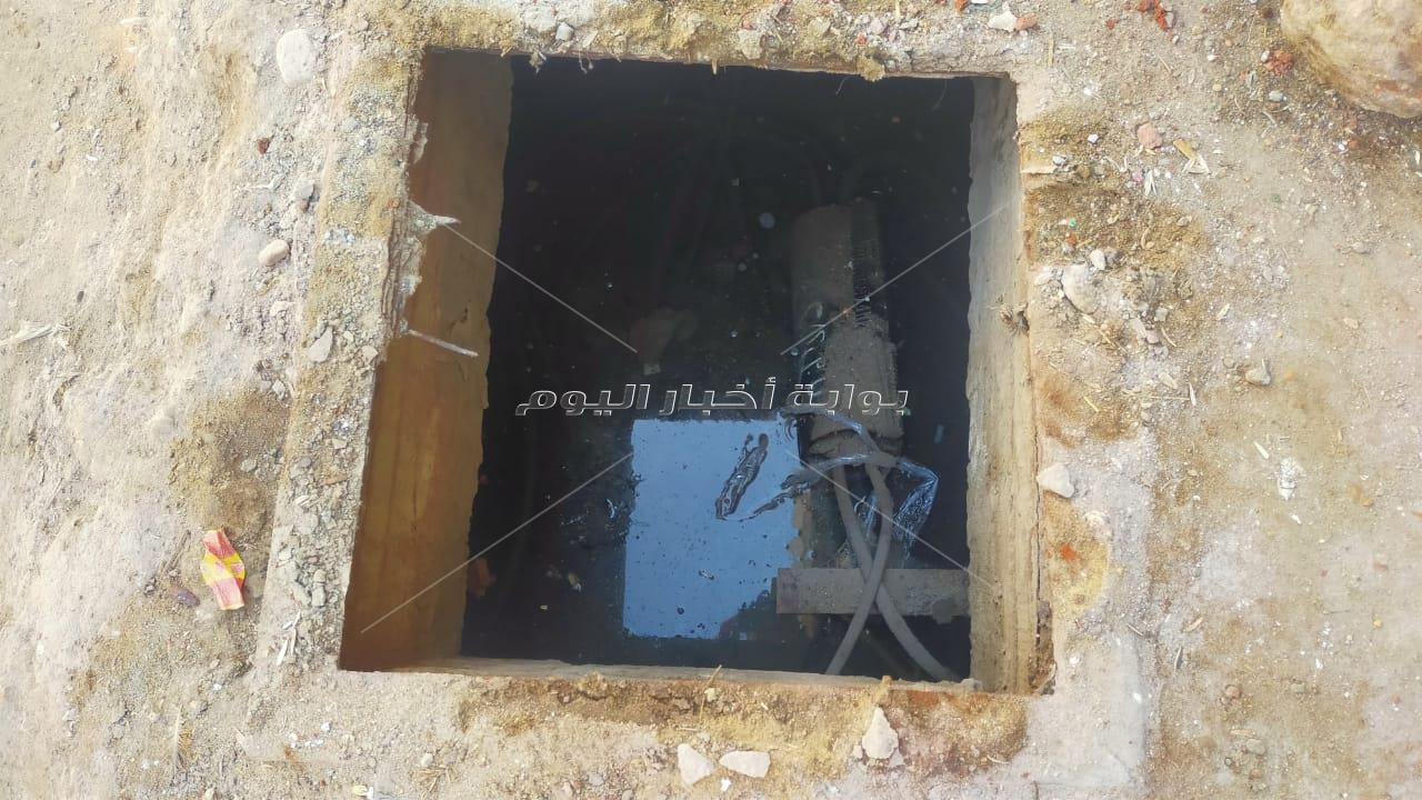 غضب بين أهالي قرية منشأة اليوسفي ببني مزار بسبب عدم وجود غطاء لغرفة التليفونات