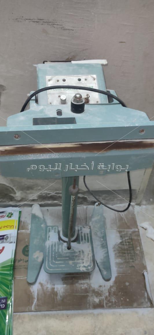 ضبط مصنع لتقليد مساحيق الاريال المضروب بالقاهرة
