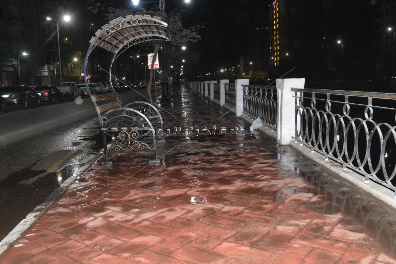 حملة ليلية مكبرة علي الأماكن العامة بالغربية في شم النسيم