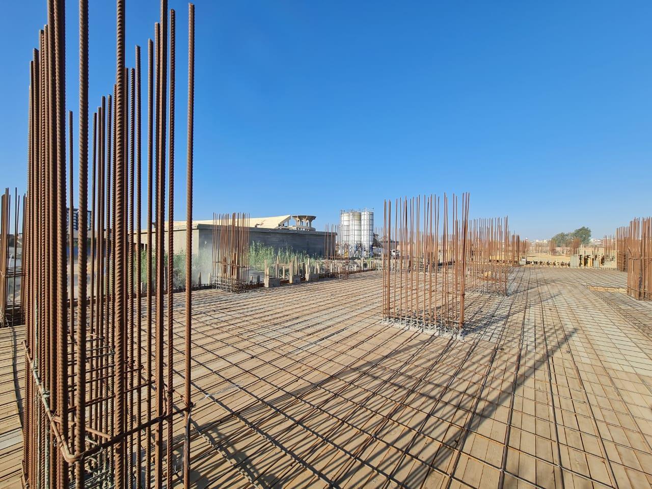 رئيس جامعة دمنهور يتفقد أعمال انشاء كلية الطب والمستشفى الجامعى .صور