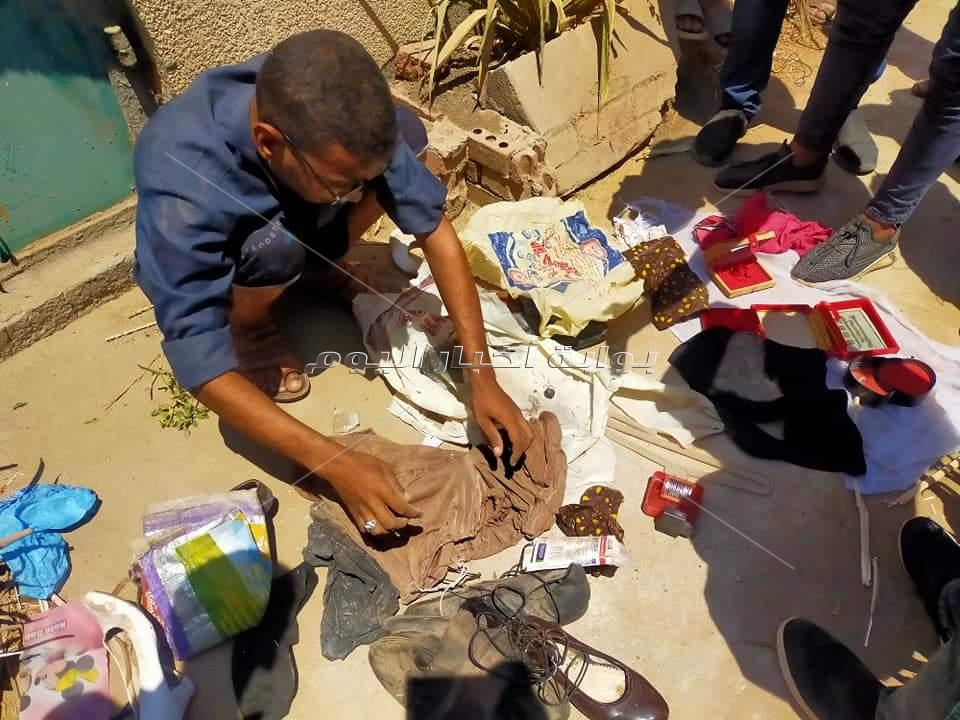 غرائب في حملة تطهير المقابر بالدلجمون بكفرالزيات في الغربية