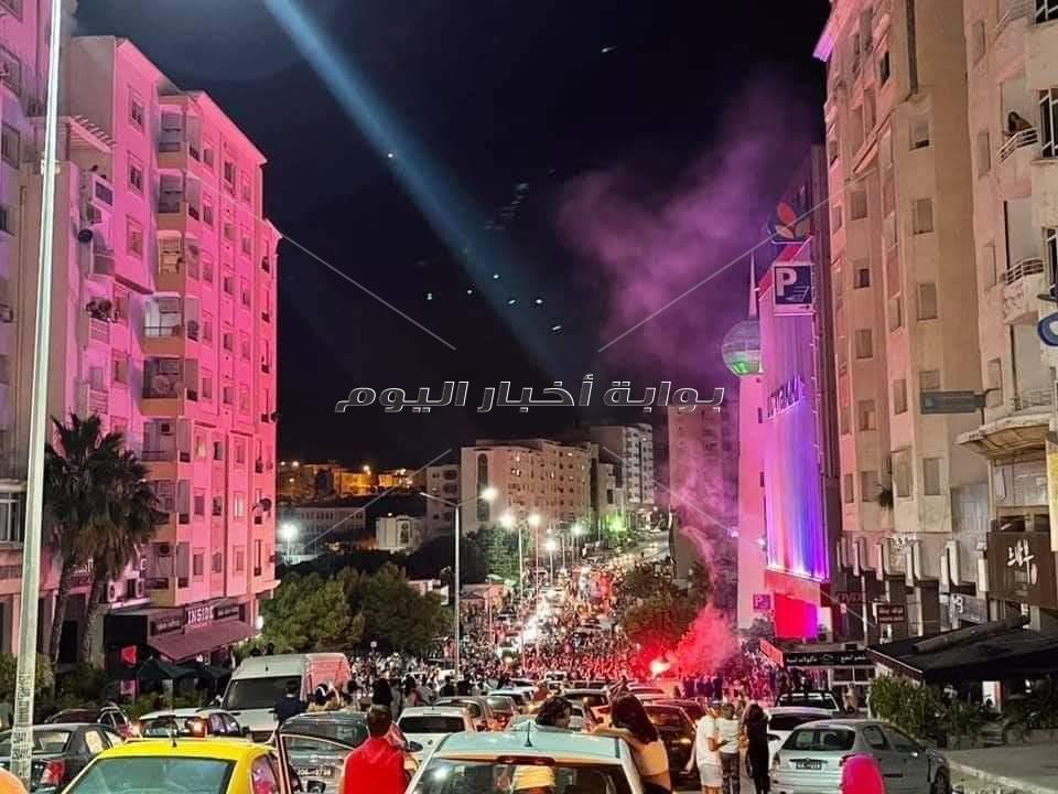 الجالية المصرية بتونس تشارك فرحة التونسيين
