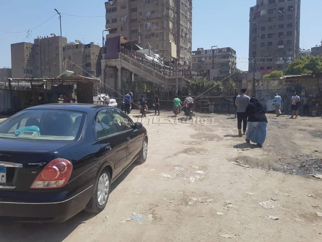 استمرار تمركز حملة الإشغالات على شارع ناهيا ببولاق الدكرور