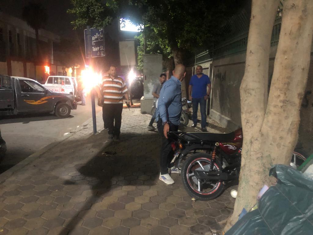 حملة مسائية موسعة على الشوارع الرئيسية بحي الدقي