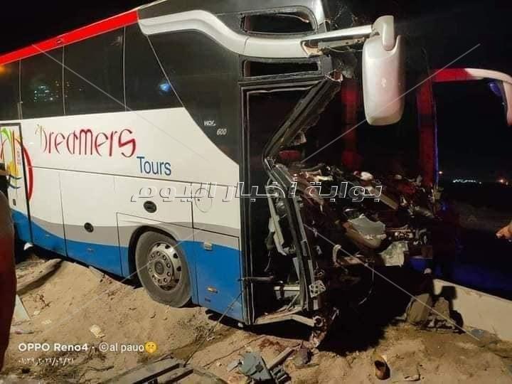 حادث تصادم بـ«القاهرة - الإسكندرية» الصحراوي