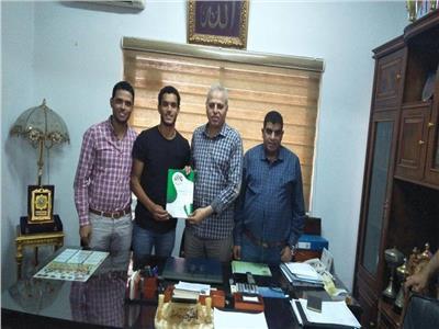 رسميًا.. الانتاج الحربي يتعاقد مع «غنام محمد» لـ5 مواسم