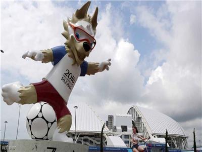 سرقة التمثال الرسمي لكأس العالم 2018 بروسيا