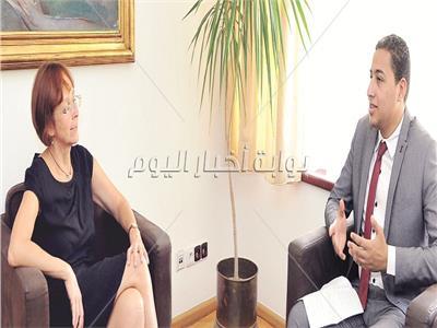 حوار| سفيرة التشيك بالقاهرة: قمة مصرية تشيكية بين السيسي وزيمان قريبًا