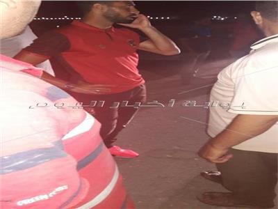 نجاة «أحمد فتحي» من الموت بعد تعرضه لحادث سير مروع