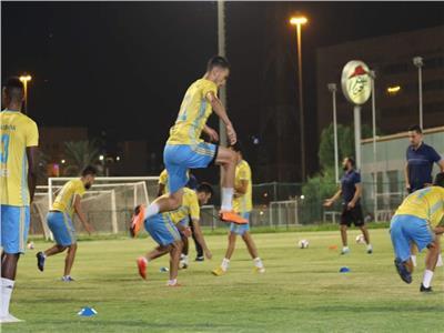 تدريبات بدنية وجمل فنية في مران الدراويش استعدادًا للكويت