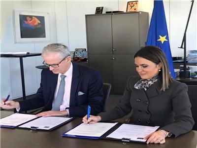 مصر توقع مع الاتحاد الأوروبى اتفاقيتين لتوفير فرص عمل للشباب والمرأة