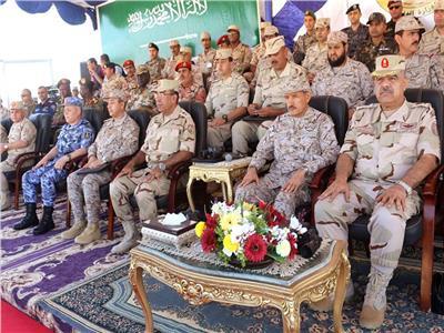 صور..ختام فعاليات التدريب المصري السعودي المشترك ( تبوك -4)
