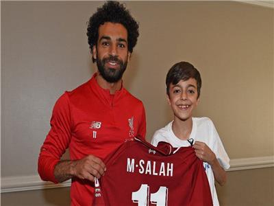 5 مواقف مؤثرة لـ«محمد صلاح» مع أطفال ليفربول