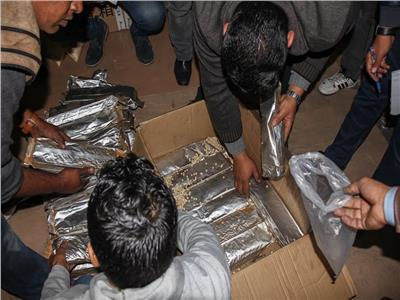 إحباط محاولة تهريب 5.5 ملايين قرص مخدر بميناء دمياط