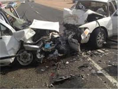 إصابة 15 مزارعا فى انقلاب سيارة بالمنيا